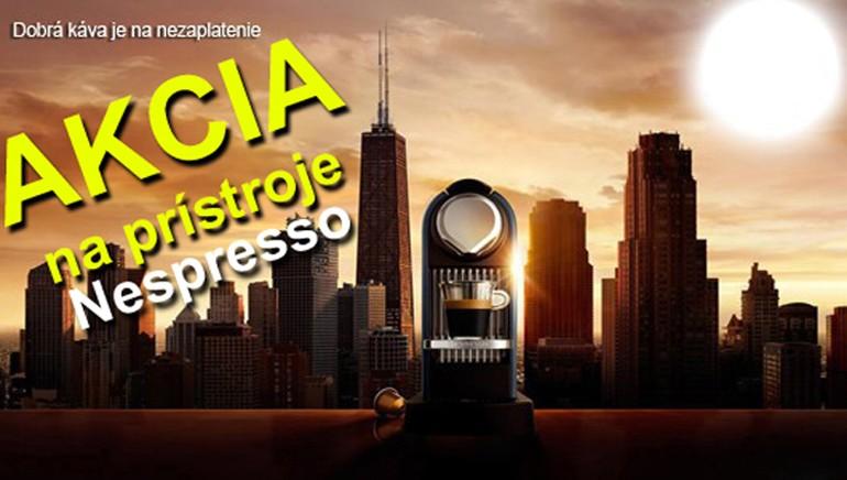 Nespresso kapsule a prístroje